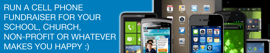 Run a cell phone fundraiser for your church, school or non-profit organization.